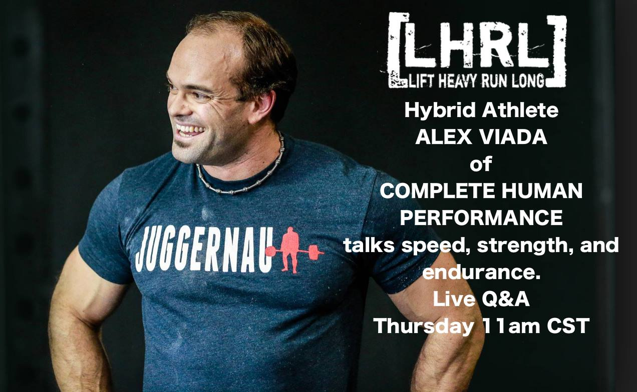 LHRL Podcast 13 with Alex Viada