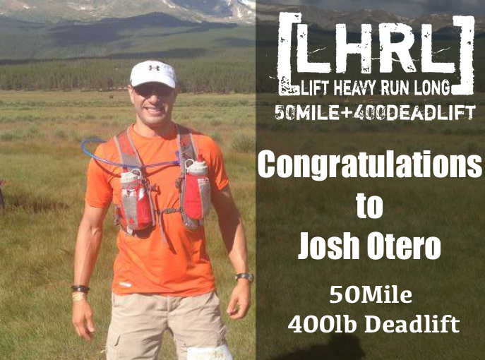 Welcome Josh Otero to the 50/400 Club