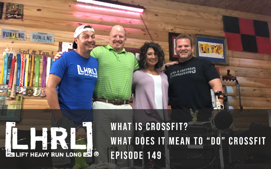 "What is CrossFit and what does it mean to ""do"" CrossFit?"