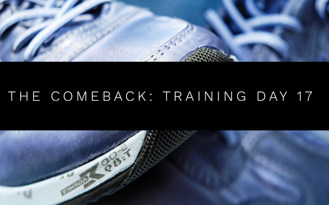 The Comeback: Training Day 17