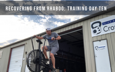 Recovering from rhabdo: Training Day Ten