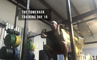 The Comeback: Training Day 16