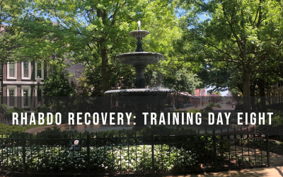 Recovering from rhabdo: Training Day Eight