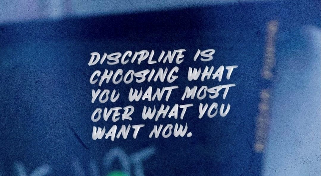 quote about discipline